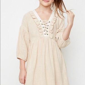 Other - Ruffled Pheasant Dress